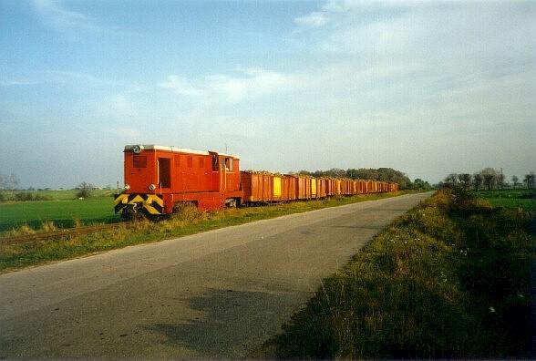 Lxd2-285, Kolej Cukrowni Tuczno, 10.1996, foto Andrew Goodwin
