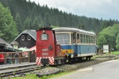 R24.002 společně s Tu24.001 ve Vydrově, Autor: Ondřej Adamczyk